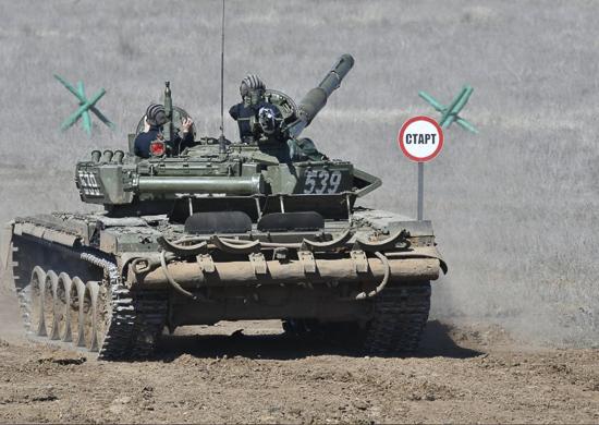 В ЮВО для участия во всеармейском этапе конкурсов «Танковый биатлон» и «Суворовский натиск» прибыли первые команды